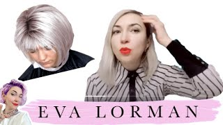 Ева Лорман, окрашивание волос, Окрашивание Балаяж