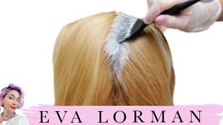 eva lorman, hair, haircoloring